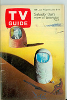 1968 TV Guide Jun 8 Hugh Downs Cleveland edition Very Good - No Mailing Label  [Sl loose at the staples, lt wear on cover, contents fine]