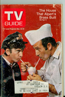 1968 TV Guide Nov 16 Cast of The Good Guys NY Metro edition Good to Very Good  [Heavy scuffing and creasing on cover; contents fine]