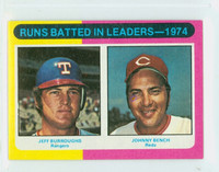 1975 Topps Mini Baseball 308 RBI Leaders Excellent to Mint