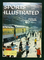 1959 Sports Illustrated February 9 Winter Fun in Colorado Excellent