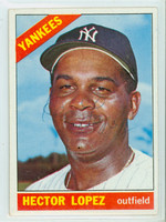 Hector Lopez AUTOGRAPH 1966 Topps #177 Yankees   [SKU:LopeH698_T66BB]