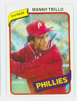Manny Trillo AUTOGRAPH 1980 Topps #90 Phillies   [SKU:TrilM5944_T80BB]