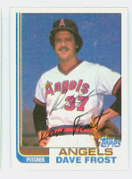 Dave Frost AUTOGRAPH 1982 Topps #24 Angels   [SKU:FrosD7137_T82BB]