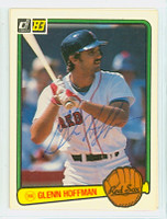 Glenn Hoffman AUTOGRAPH 1983 Donruss #282 Red Sox 