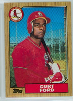 Curt Ford AUTOGRAPH 1987 Topps #399 Cardinals   [SKU:FordC10327_T87BBV1jl]