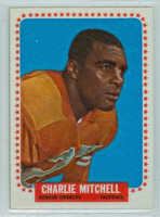 1964 Topps Football 55 Charlie Mitchell Denver Broncos Excellent to Mint