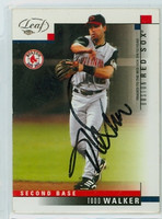 Edgardo Alfonzo AUTOGRAPH 2003 Fleer Focus Giants 