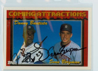 Danny Bautista DUAL SIGNED 1994 Topps Tigers Prospects   [SKU:BautD10842_T94BBDR]
