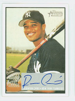 Robinson Cano AUTOGRAPH 2003 Bowman Heritage Yankees CERTIFIED 