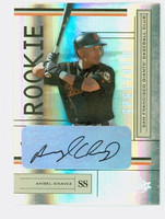 Angel Chavez AUTOGRAPH 2004 Playoff Absolute Giants CERTIFIED   [SKU:ChavA11188_PLAYF04ce]