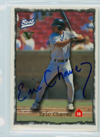 Eric Chavez AUTOGRAPH Classic/Best Minor League Card 