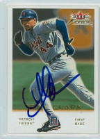 Tony Clark AUTOGRAPH 2001 Fleer Focus Tigers 