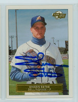 Shawn Estes AUTOGRAPH Fleer Minor League Card Bellingham 
