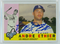Andre Ethier AUTOGRAPH 2009 Topps Heritage 1960 Topps Design Dodgers PERS  [SKU:EthiA11540_TPHRT09jl]