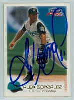 Alex Gonzalez AUTOGRAPH 2000 Fleer Focus Marlins 