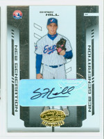 Shawn Hill AUTOGRAPH 2004 Leaf Materials Expos Gold CERTIFIED 