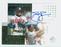 Andruw Jones AUTOGRAPH Upper Deck SP Chronology Braves CERTIFIED 