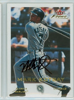 Mark Kotsay AUTOGRAPH 2001 Fleer Focus Marlins 