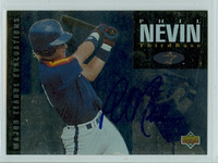 Phil Nevin AUTOGRAPH 1994 Upper Deck Astros Minor League 