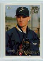 Billy Wagner AUTOGRAPH 1996 Topps Astros   [SKU:WagnB13750_T96BB]