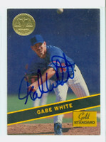 Gabe White AUTOGRAPH 1994 Signature Gold Standard Expos 