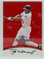 Tony Womack AUTOGRAPH 1997 Donruss Signature Series RED /3900 Pirates CERTIFIED   [SKU:WomaT13885_D00SS97HCce]