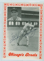 Luke Appling AUTOGRAPH d.91 TCMA Chicago's Greats White Sox 