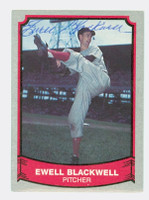 Ewell Blackwell AUTOGRAPH d.96 1988-89 Pacific Legends 