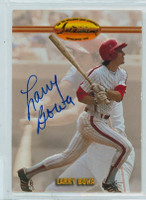 Larry Bowa AUTOGRAPH Ted Williams Phillies   [SKU:BowaL432_TEDW]