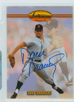 Dave Dravecky AUTOGRAPH Ted Williams Giants   [SKU:DravD6426_TEDW]