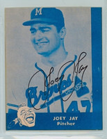 Joe Jay AUTOGRAPH Lake to Lake Braves Reprints 