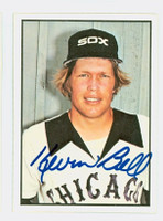 Kevin Bell AUTOGRAPH 1978 SSPG All Star Gallery White Sox 
