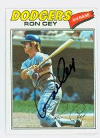 Ron Cey AUTOGRAPH 1977 Topps #50 Dodgers 