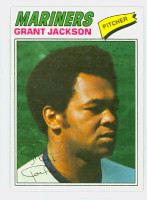 Grant Jackson AUTOGRAPH 1977 Topps #49 Mariners 