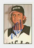Ron Schueler AUTOGRAPH 1978 SSPG All Star Gallery White Sox 