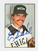 Eric Soderholm AUTOGRAPH 1978 SSPG All Star Gallery White Sox 