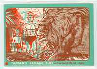 1953 Tarzan Savage Fury 10 Terror-Filled Eyes Excellent to Mint