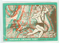 1953 Tarzan Savage Fury 11 Jungle Travel Excellent to Mint