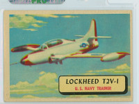 1957 Planes 2 Lockheed T2V-1 Excellent RED