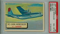 1957 Planes 4 YC-130 A Hercules PSA 8 Near Mint to Mint RED