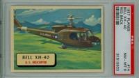 1957 Planes 14 Bell XH-40 PSA 8 Near Mint to Mint RED