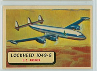 1957 Planes 55 1049-G Super Constellation Excellent to Mint RED