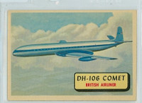 1957 Planes 81 DH-106 Comet Excellent to Mint RED