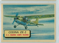 1957 Planes 108 Cessna OE-2 Excellent to Mint RED
