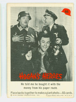 1965 Hogans Heroes 66 Paper Route - Last Card! Good to Very Good