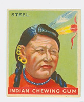 1947 Goudey Indians 73 Steel Excellent to Mint