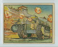 1938 Horrors of War 51 Tokio Tanks in Action at Nanking Good to Very Good