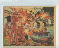 1938 Horrors of War 61 Blowing Up the Wen River Railway Good to Very Good