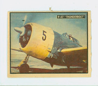 1950 Freedom's War 89 P-47 Thunderbolt Excellent to Excellent Plus