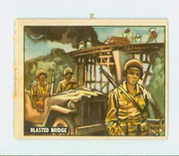 1950 Freedom's War 132 Blasted Bridge Very Good to Excellent